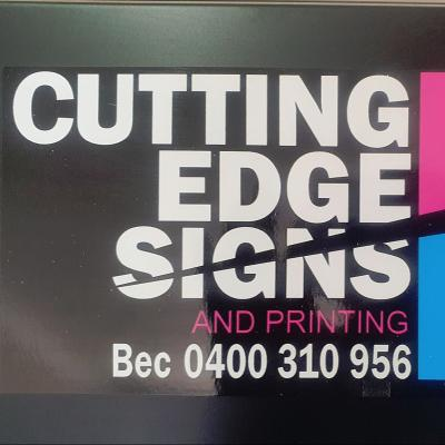 Cutting Edge Signs and Printing